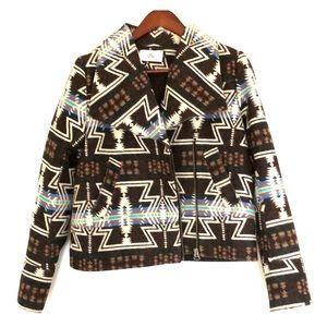 Dolce vita print jacket